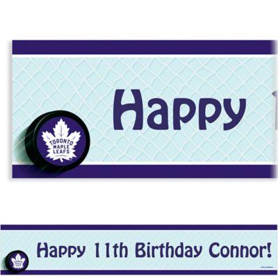 Toronto Maple Leafs Custom Banner