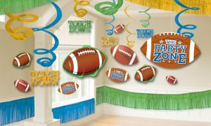 Football Room Decorating Kit 22pc