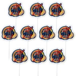 Wilton Spider-Man Fun Picks 24ct