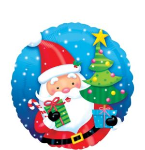Christmas Balloon - Gifting Santa