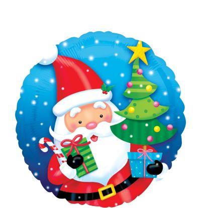 Christmas Balloon - Gifting Santa