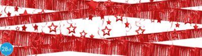 Red Foil Room Decorating Kit 28pc