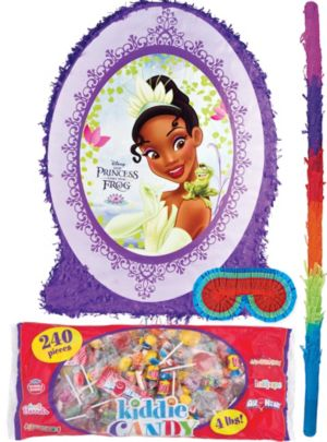Pull String Princess and the Frog Pinata Kit