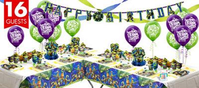 Teenage Mutant Ninja Turtles Party Supplies Deluxe Party Kit