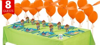 Bubble Guppies Basic Party Kit for 8 Guests