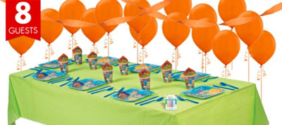 Bubble Guppies Party Supplies Basic Party Kit