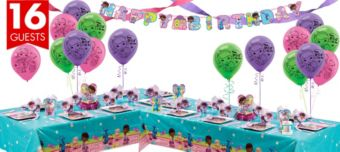 Doc McStuffins Deluxe Party Kit for 16 Guests