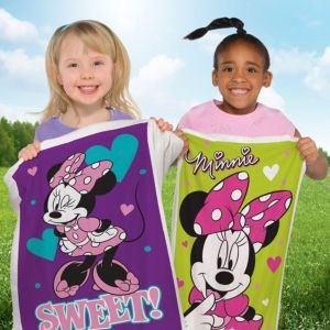 Minnie Mouse Potato Sack Race Bags 4ct