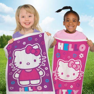 Hello Kitty Potato Sack Race Bags 4ct