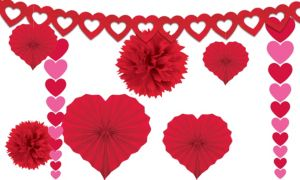 Valentine's Day Decorating Kit 9pc