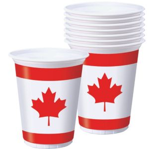 Maple Leaf Cups 8ct