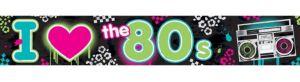 Totally 80s Foil Banner