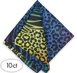 Totally 80s Bandanas 10ct
