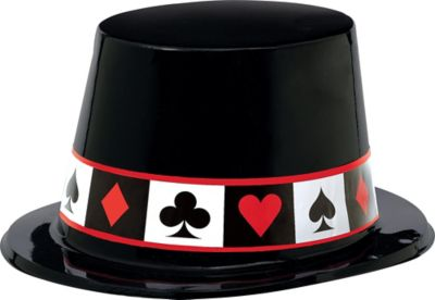 Casino Black Top Hat