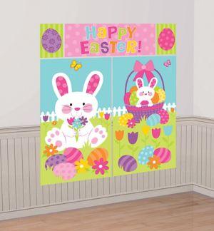 Happy Easter Scene Setter 5pc
