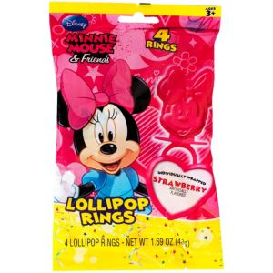 Minnie Mouse Candy Rings 4ct
