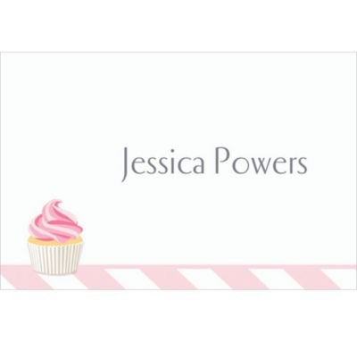 Custom Cake of Cupcakes Bridal Shower Thank You Notes