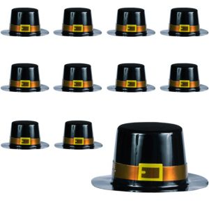 Mini Pilgrim Hats 24ct