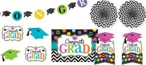 Dream Big Graduation Room Decorating Kit 10pc