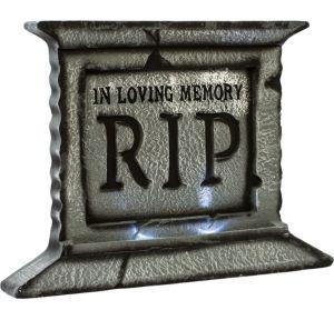 Light-Up RIP Tombstone Decoration