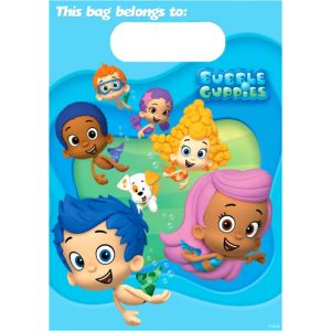 Bubble Guppies Favor Bags 8ct