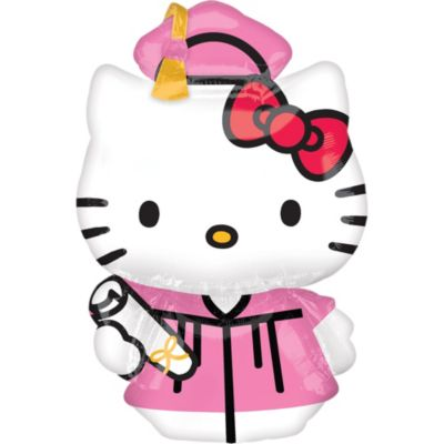Hello Kitty Graduation Balloon
