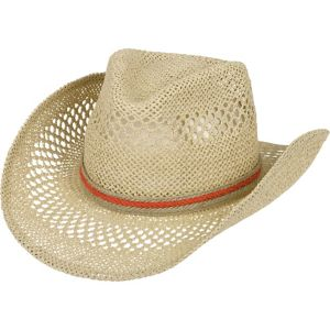Natural Woven Cowboy Hat