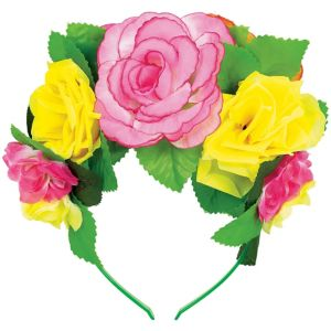Flower Crown Headband Deluxe