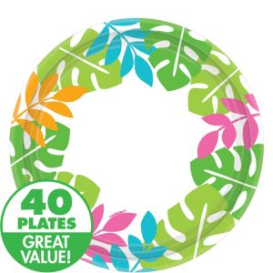 Palm Leaf Lunch Plates 40ct