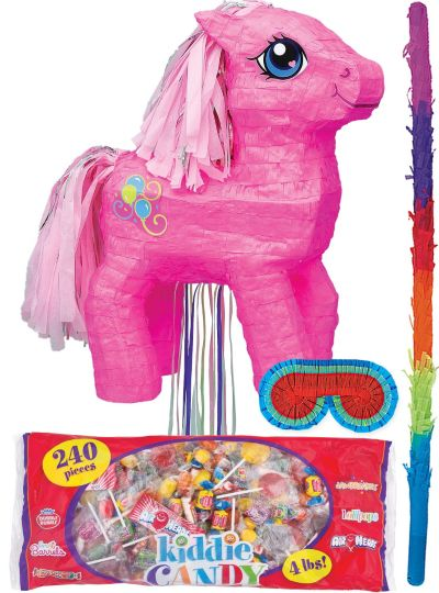 Pull String My Little Pony Pinata Kit