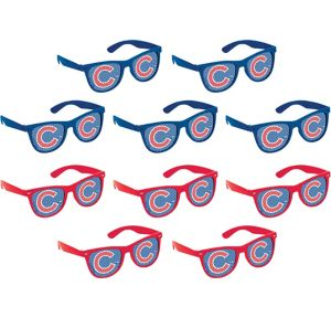 Chicago Cubs Printed Glasses 10ct