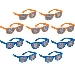 New York Mets Printed Glasses 10ct