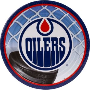 Edmonton Oilers Lunch Plates 8ct