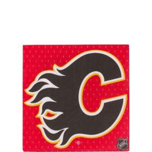 Calgary Flames Beverage Napkins 16ct