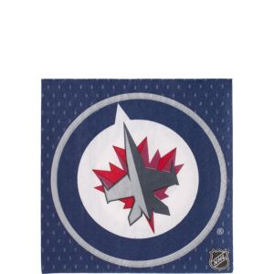 Winnipeg Jets Beverage Napkins 16ct