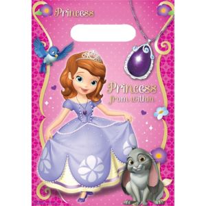Sofia the First Favor Bags 8ct