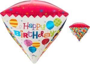 Diamondz Geometric Birthday Balloon