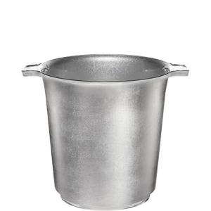 Silver Plastic Ice Bucket