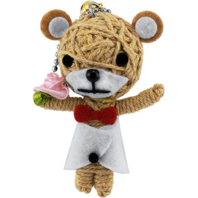 Teddy Voodoo Doll Key Chain