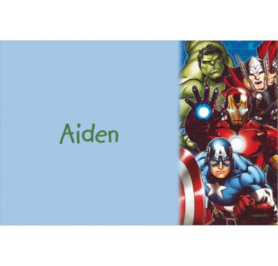 Custom Avengers Thank You Notes
