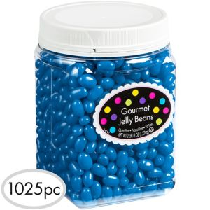 Royal Blue Jelly Beans 1025pc