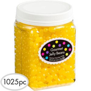 Yellow Jelly Beans 1025pc