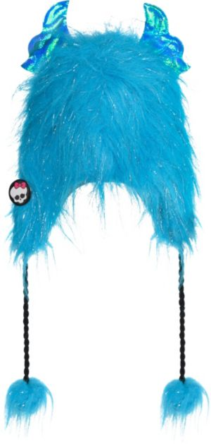 Child Furry Monster High Peruvian Hat