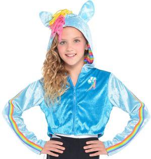 Child Rainbow Dash Hoodie - My Little Pony