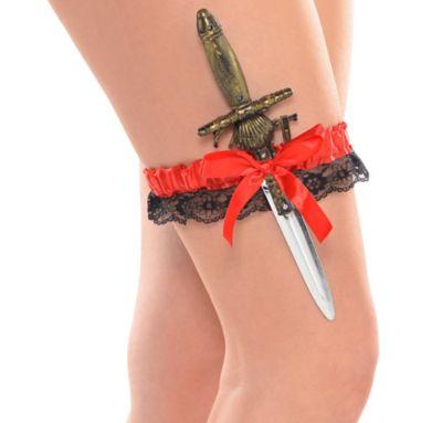 Pirate Leg Garter and Sword