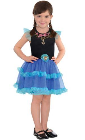 Girls Tutu Anna Dress - Frozen