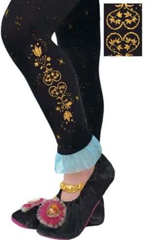 Child Footless Anna Tights - Frozen