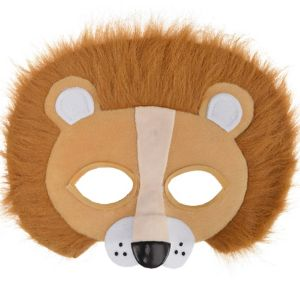 Child Plush Lion Mask
