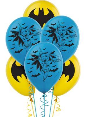 Batman Balloons 6ct