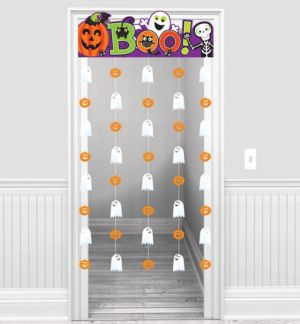 Cute Halloween Doorway Curtain